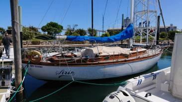 bateau de Vito Dumas