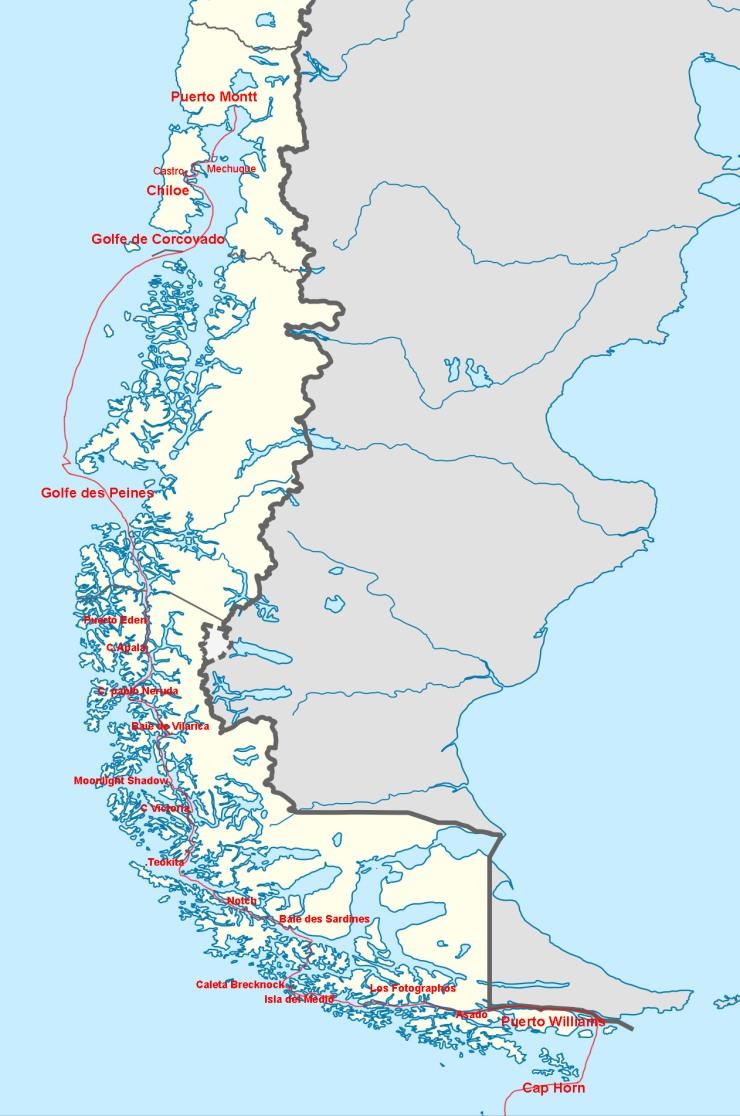 canaux de patagonie