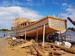 construction d'un bateau